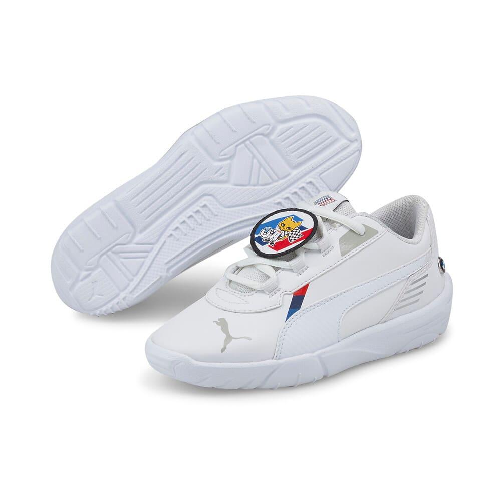 Image Puma BMW M Motorsport R-Cat Machina Kids' Motorsport Shoes #2