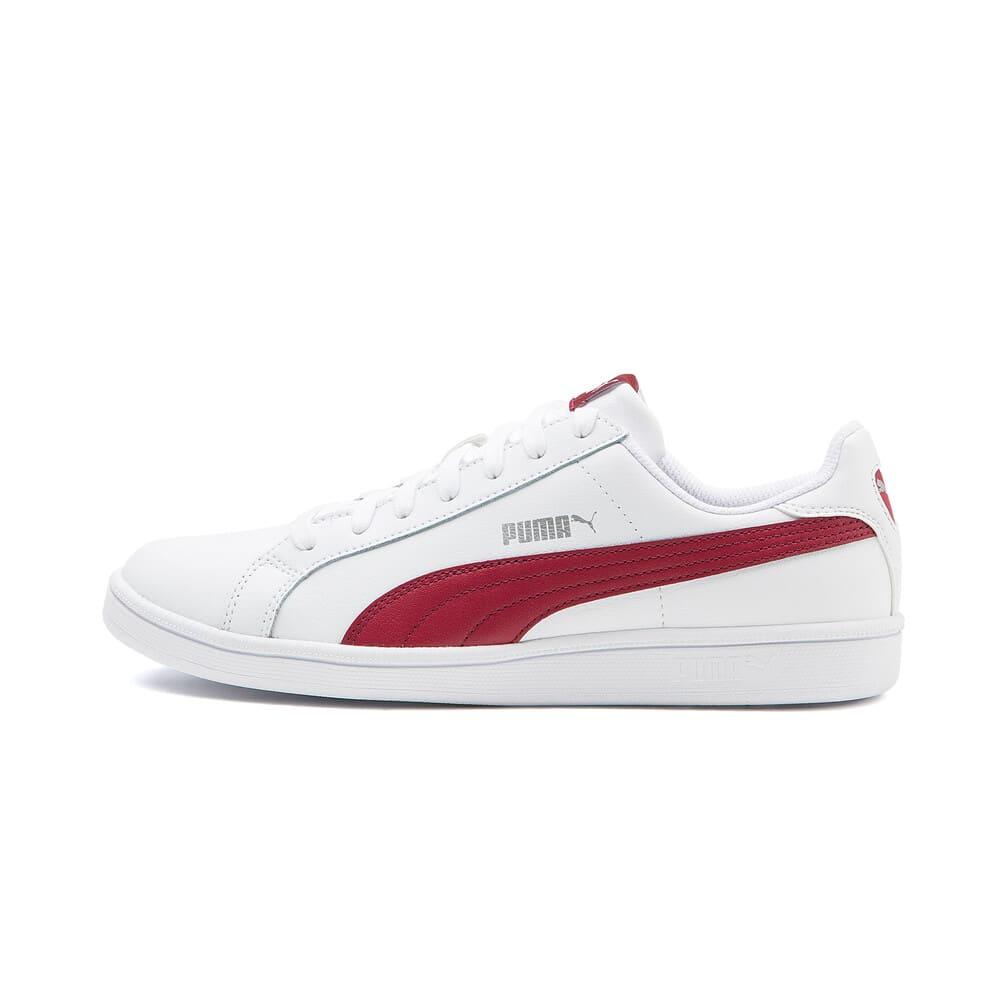 Изображение Puma Кеды Puma Smash L #1: Puma White-Tibetan Red