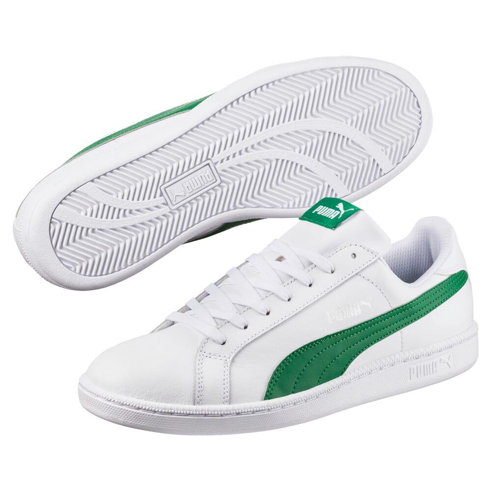 Изображение Puma Кеды Puma Smash L #2: Puma White-Verdant Green