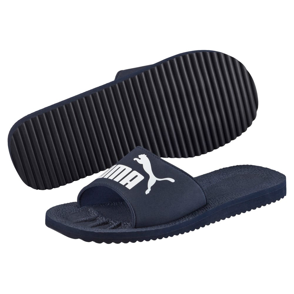 Зображення Puma Шльопанці Purecat Sandals #2: peacoat-white