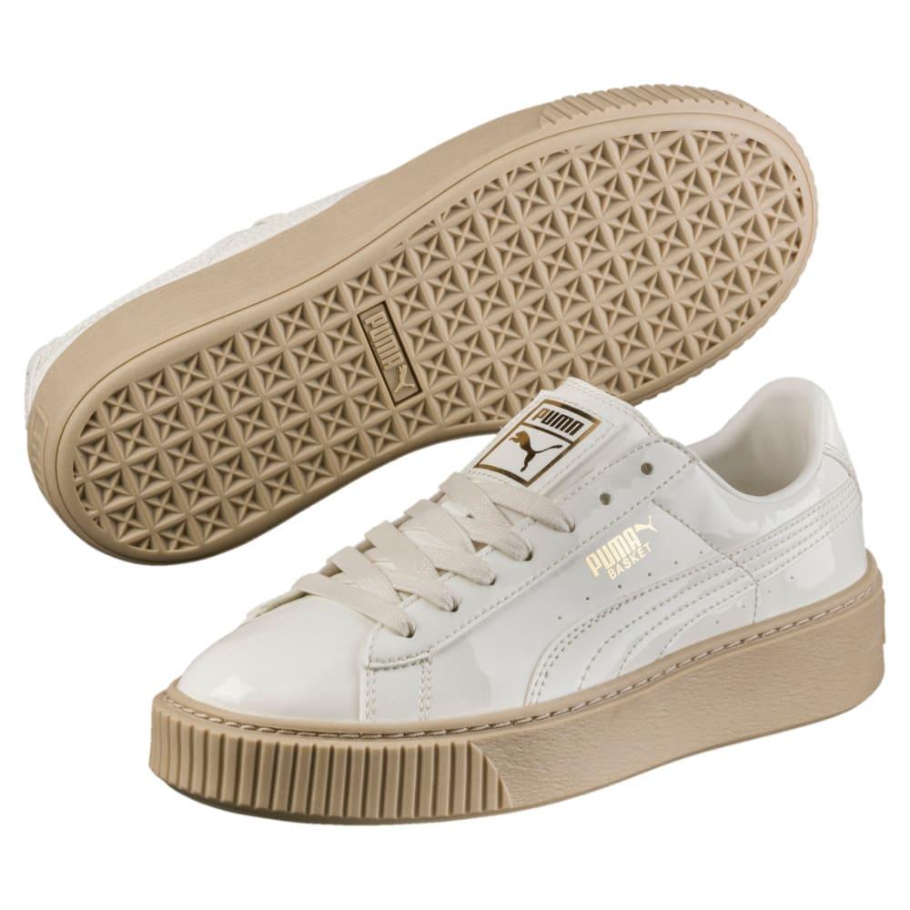 Görüntü Puma Basket Platform Patent Kadın Ayakkabı #2