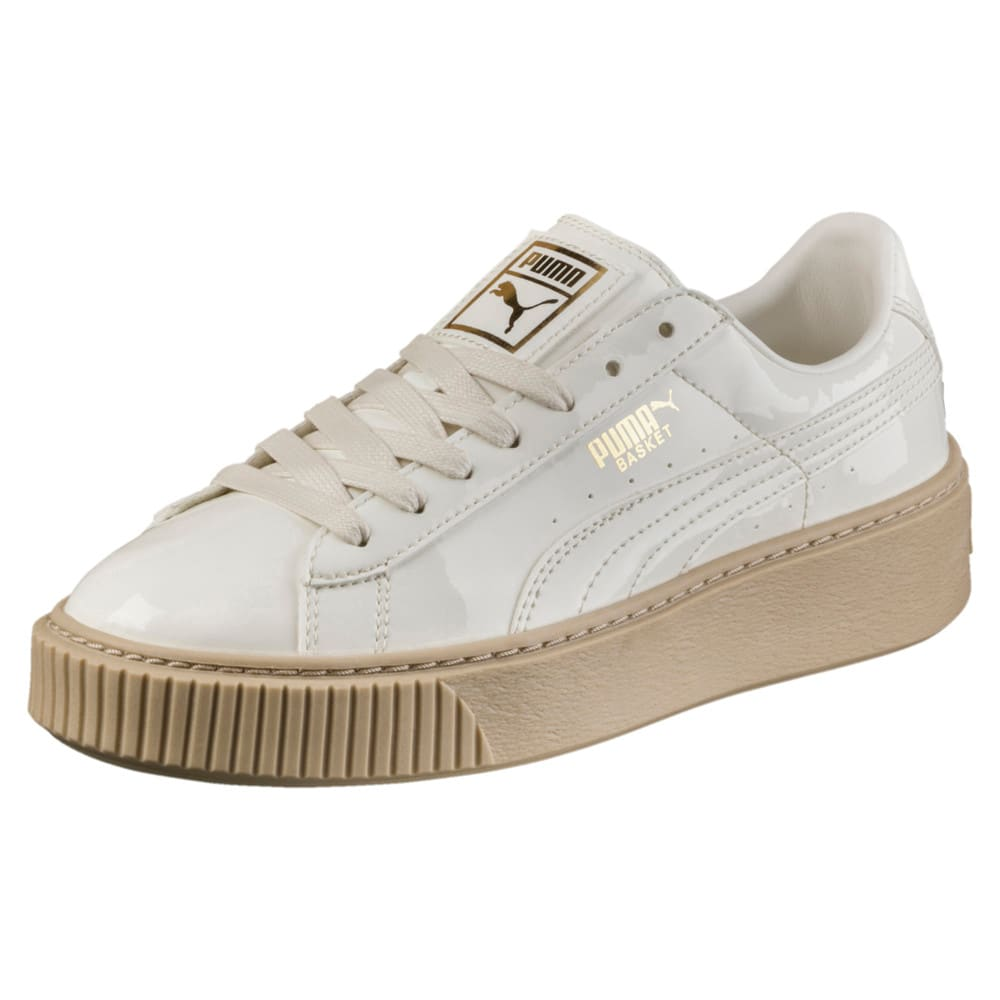 Görüntü Puma Basket Platform Patent Kadın Ayakkabı #1