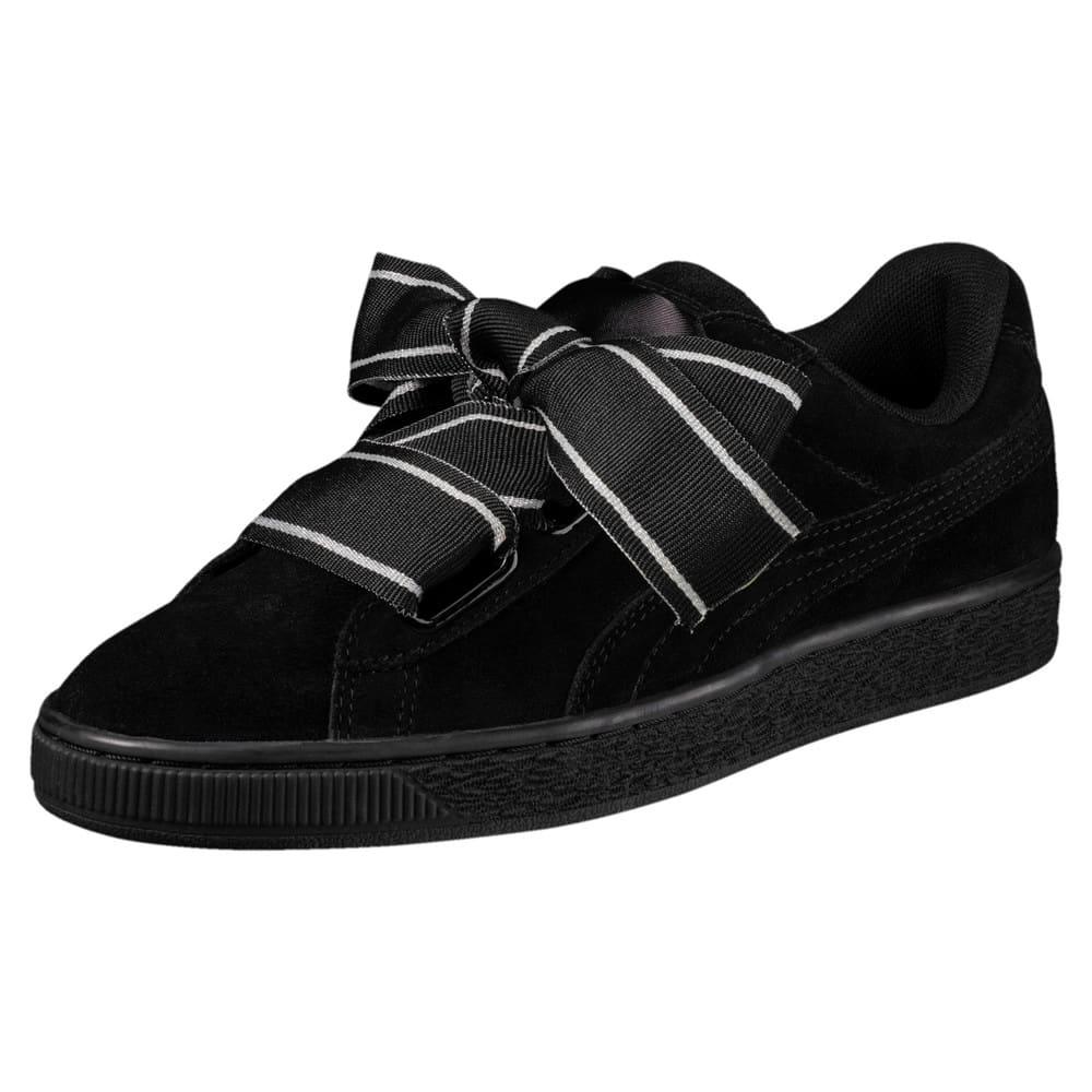 Görüntü Puma Suede Heart SATIN II Kadın Sneaker #1