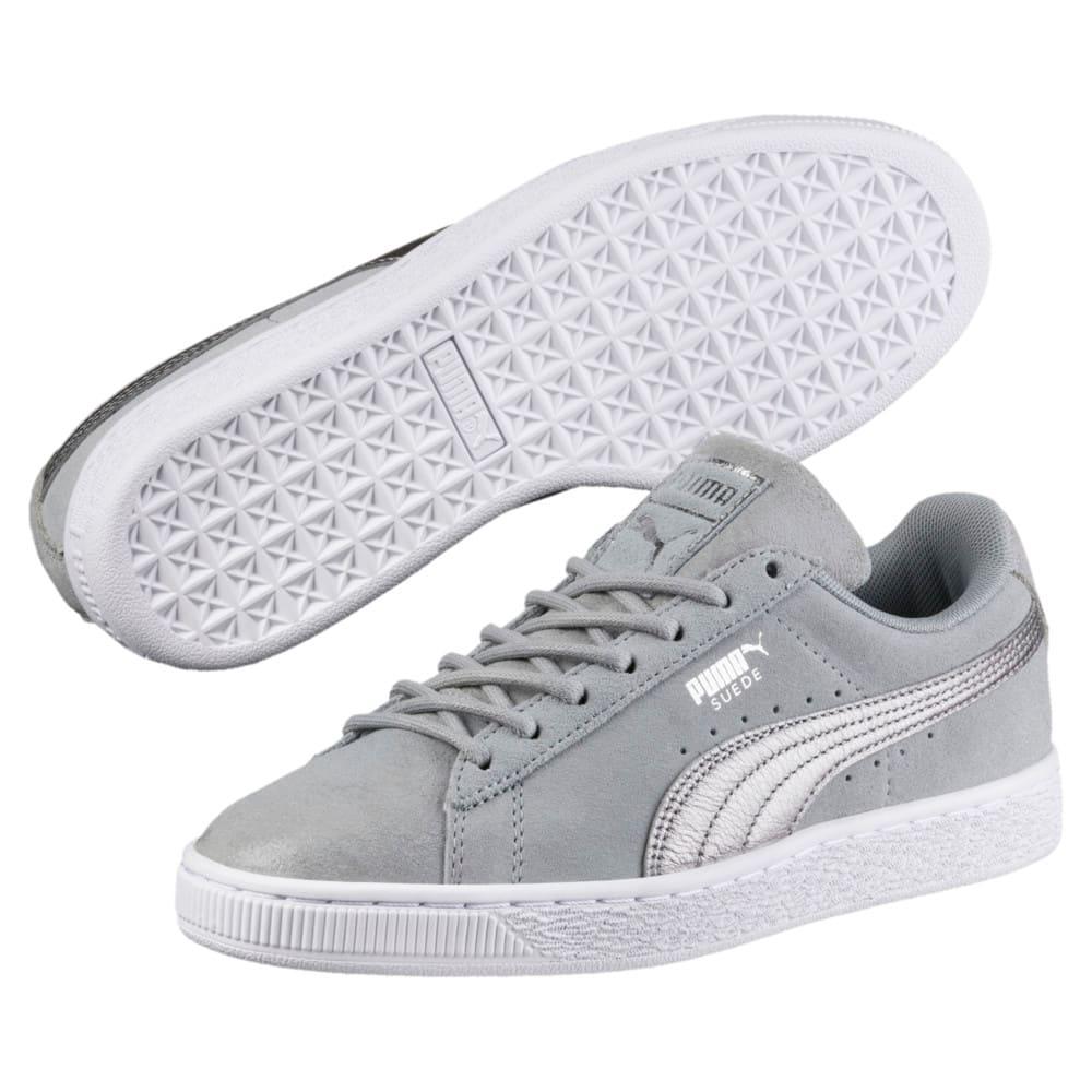 Görüntü Puma Suede CLASSIC METALLIC SAFARI Kadın Sneaker #2