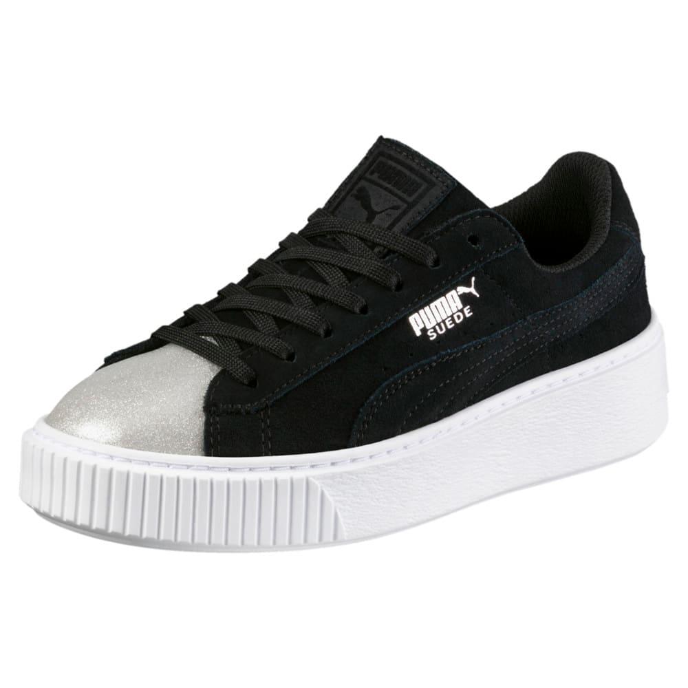 Görüntü Puma Suede Platform Glam Ayakkabı #1