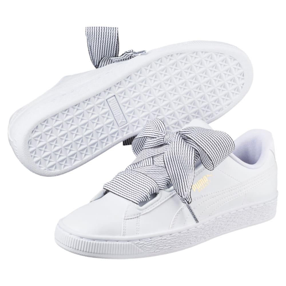 Görüntü Puma Basket Heart Kadın Ayakkabı #2