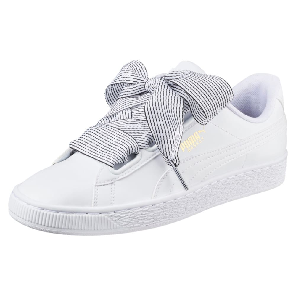 Görüntü Puma Basket Heart Kadın Ayakkabı #1