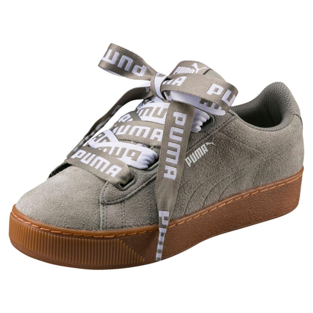 Görüntü Puma VIKKY Platform RIBBON Bold Kadın Ayakkabı #1