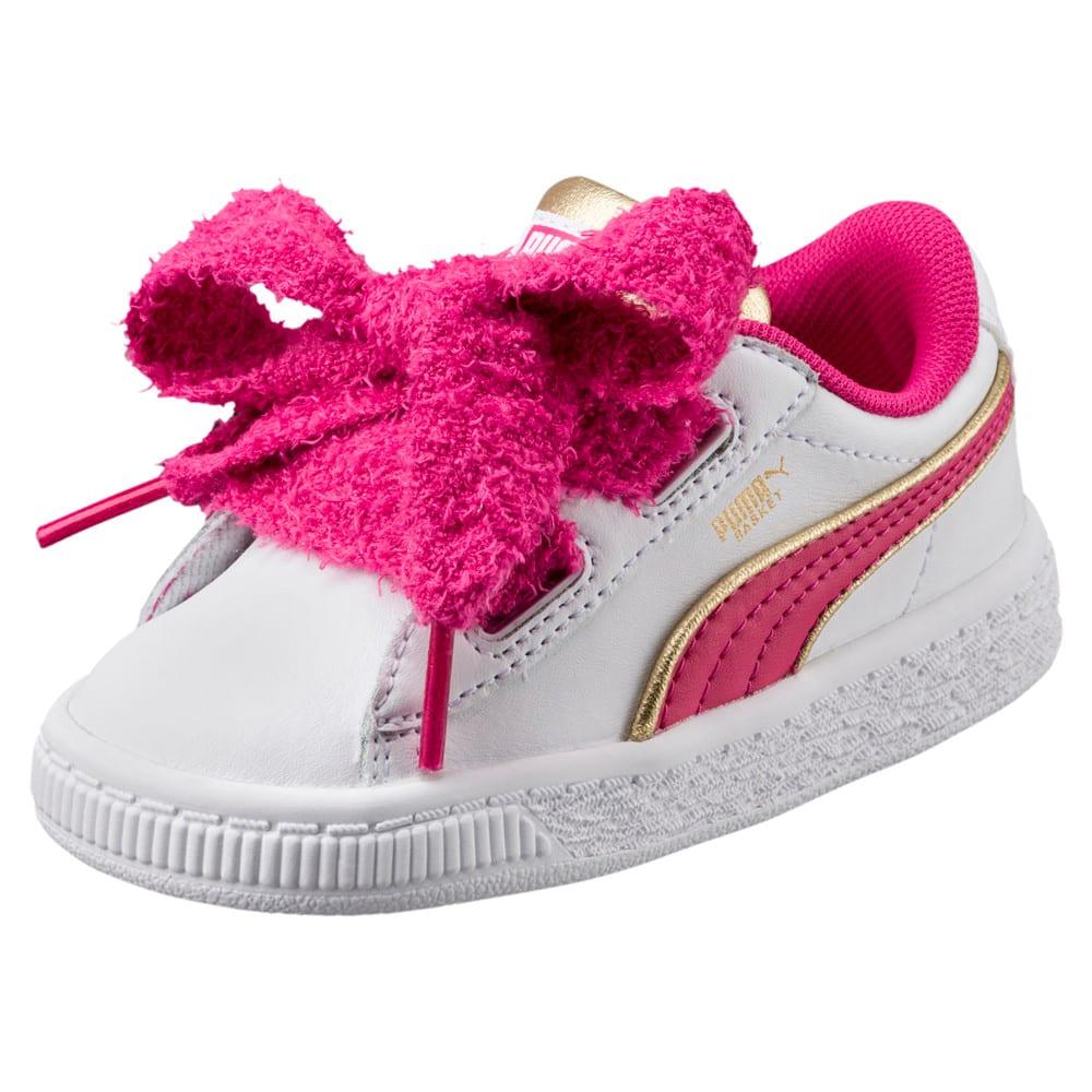 Imagen PUMA Zapatillas Minions Basket Heart Fluffy para niñas #1