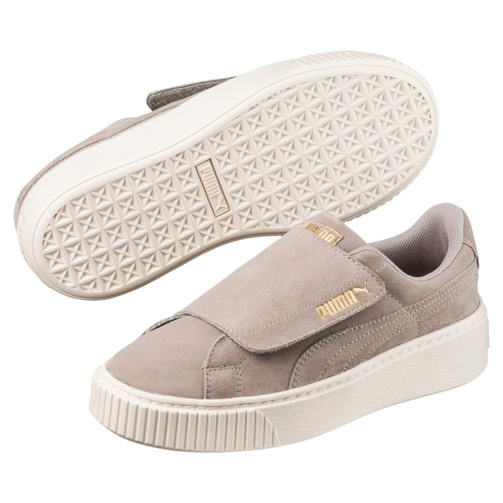 Görüntü Puma Suede Platform Strap Ayakkabı #1