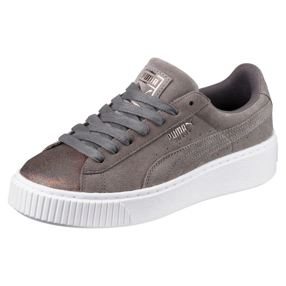 Görüntü Puma Suede Platform LunaLux Kadın Ayakkabı #1