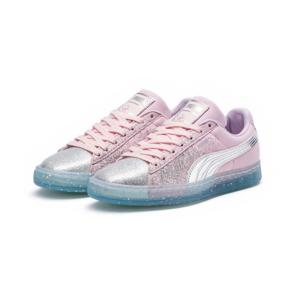 Görüntü Puma PUMA x SOPHIA WEBSTER Suede GLITTER PRINCESS Kadın Ayakkabı #2