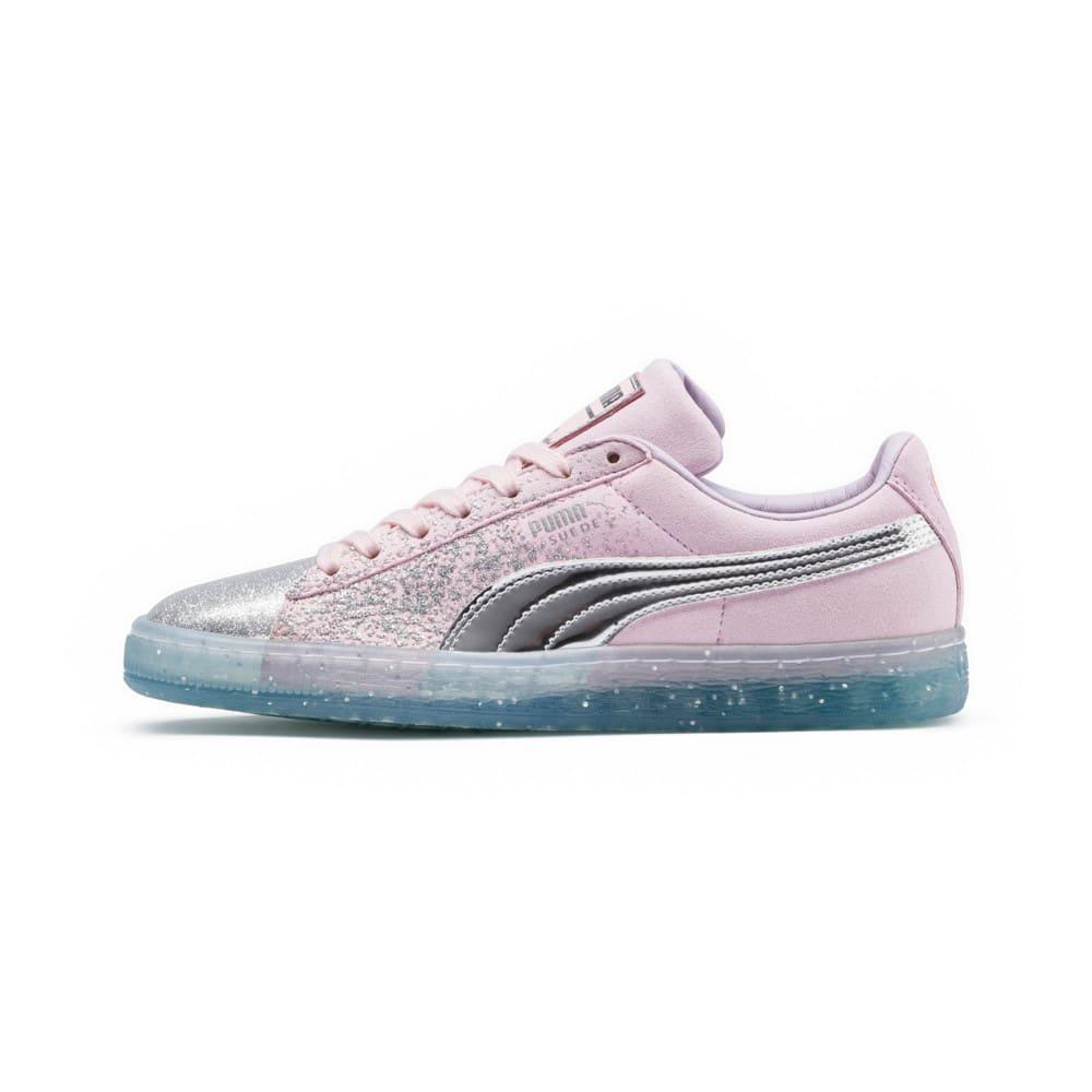 Görüntü Puma PUMA x SOPHIA WEBSTER Suede GLITTER PRINCESS Kadın Ayakkabı #1