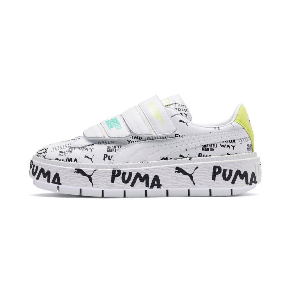 Imagen PUMA Zapatillas con plataforma y cierre de velcro PUMA x SHANTELL MARTIN para mujer #1