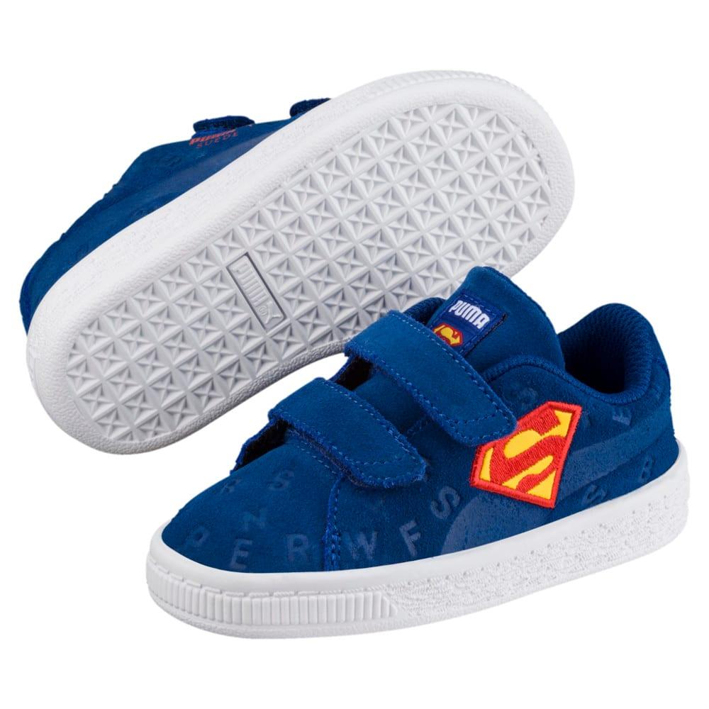 Imagen PUMA Zapatillas con estampado de la Liga de la Justicia de gamuza para niños #2