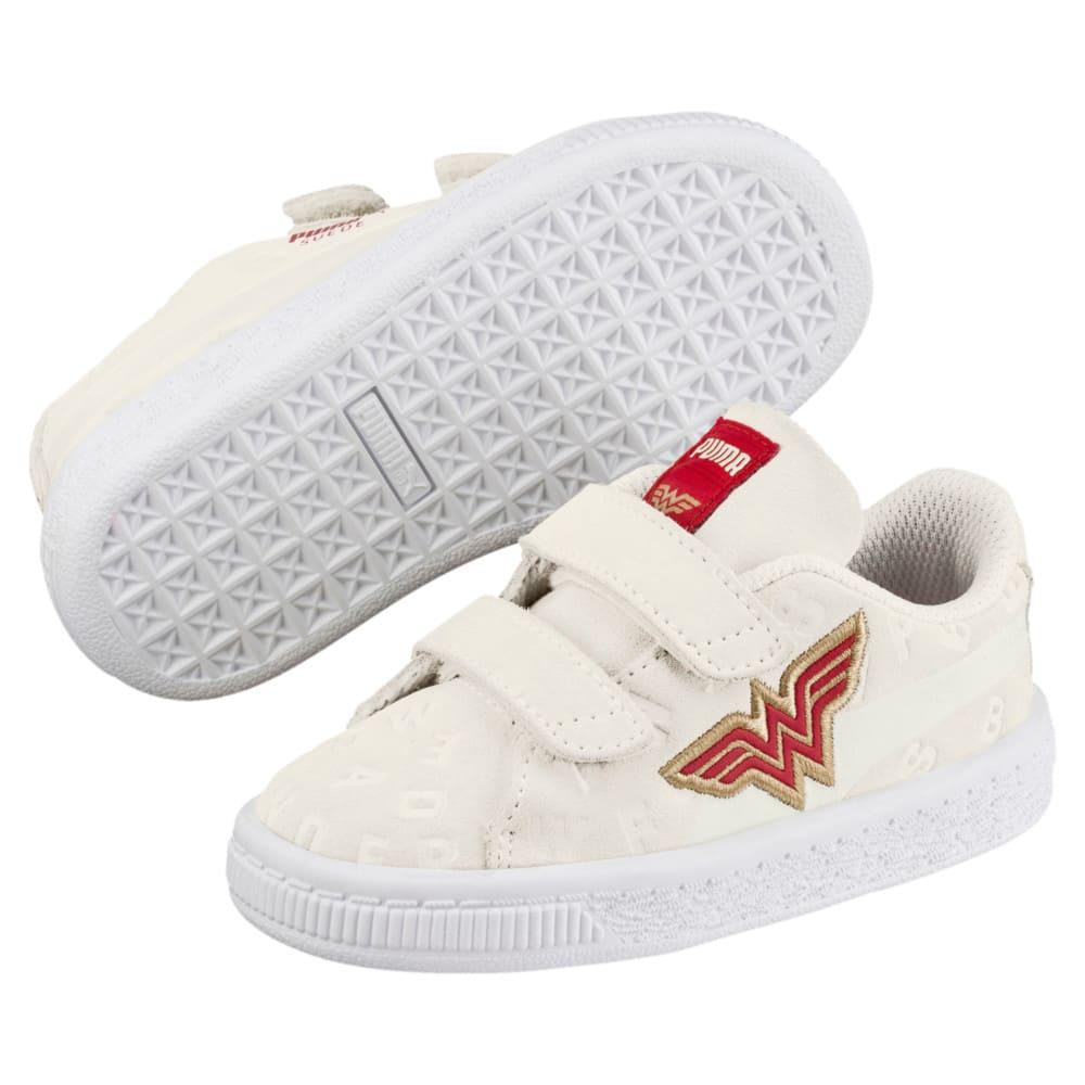 Imagen PUMA Zapatillas de la Liga de la Justicia de gamuza con estampado para bebés #2