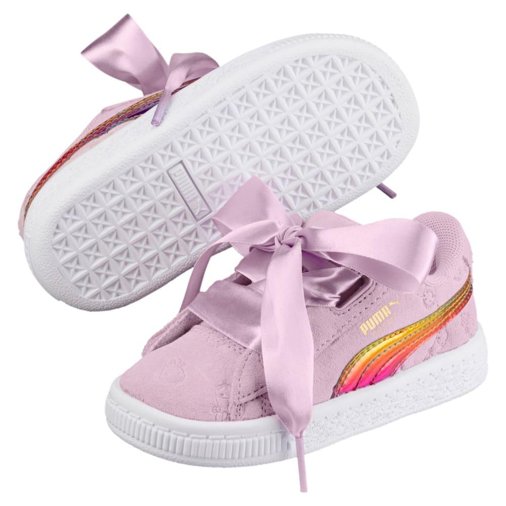 Imagen PUMA Zapatillas de niña para bebé PUMA x MINIONS Suede Heart Fluffy #2