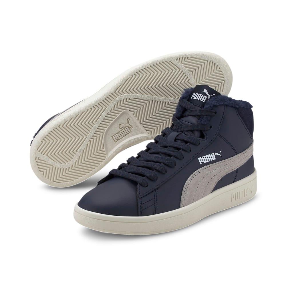 Зображення Puma Дитячі черевики Puma Smash v2 Mid L Fur Jr #2