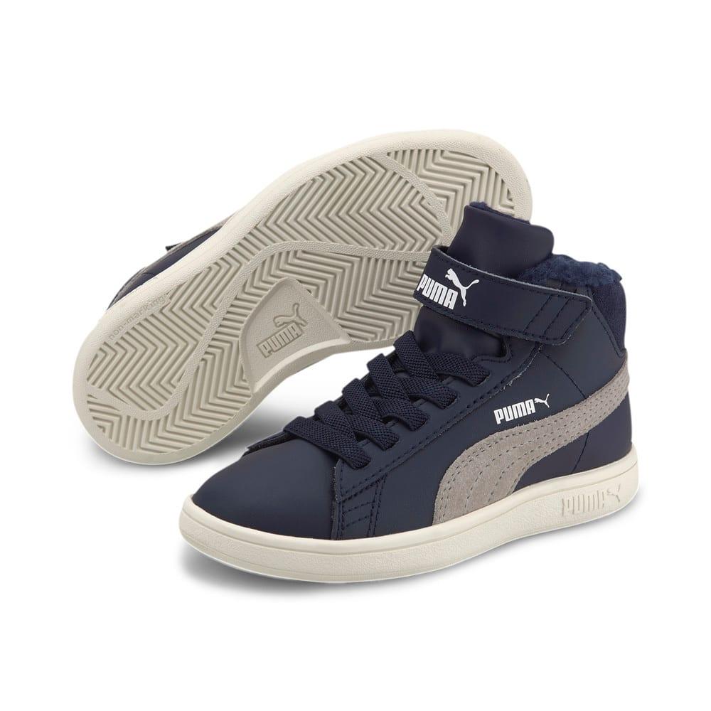Изображение Puma Детские ботинки Puma Smash v2 Mid L Fur V PS #2