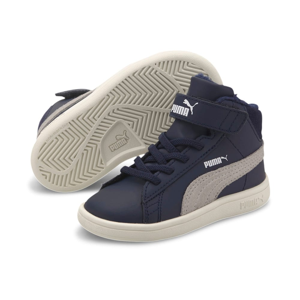Зображення Puma Дитячі кросівки Smash V2 Mid Fur V #2