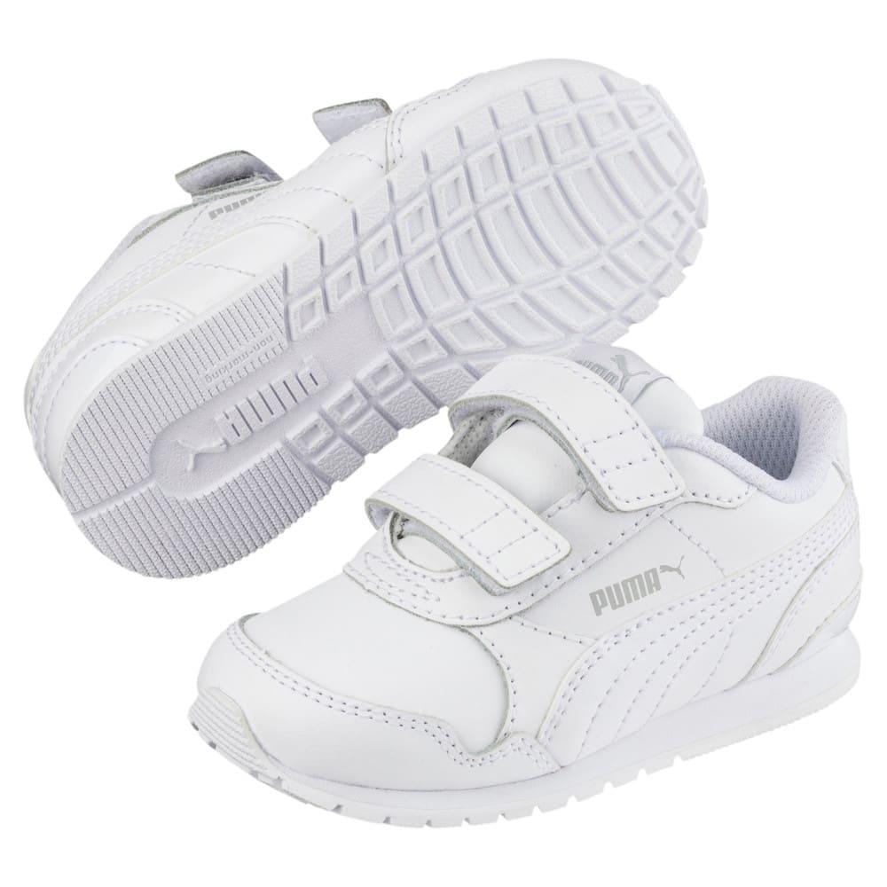 Изображение Puma Детские кроссовки ST Runner v2 L V PS #2: Puma White-Gray Violet