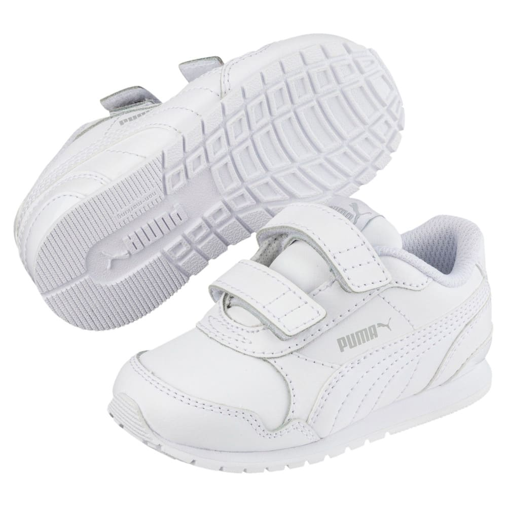 Изображение Puma Детские кроссовки ST Runner v2 L V PS #1: Puma White-Gray Violet