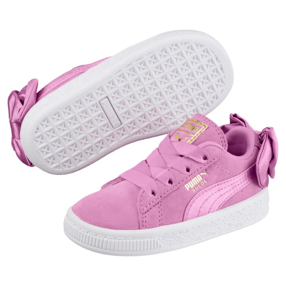 Imagen PUMA Zapatillas Suede Bow para niñas #2