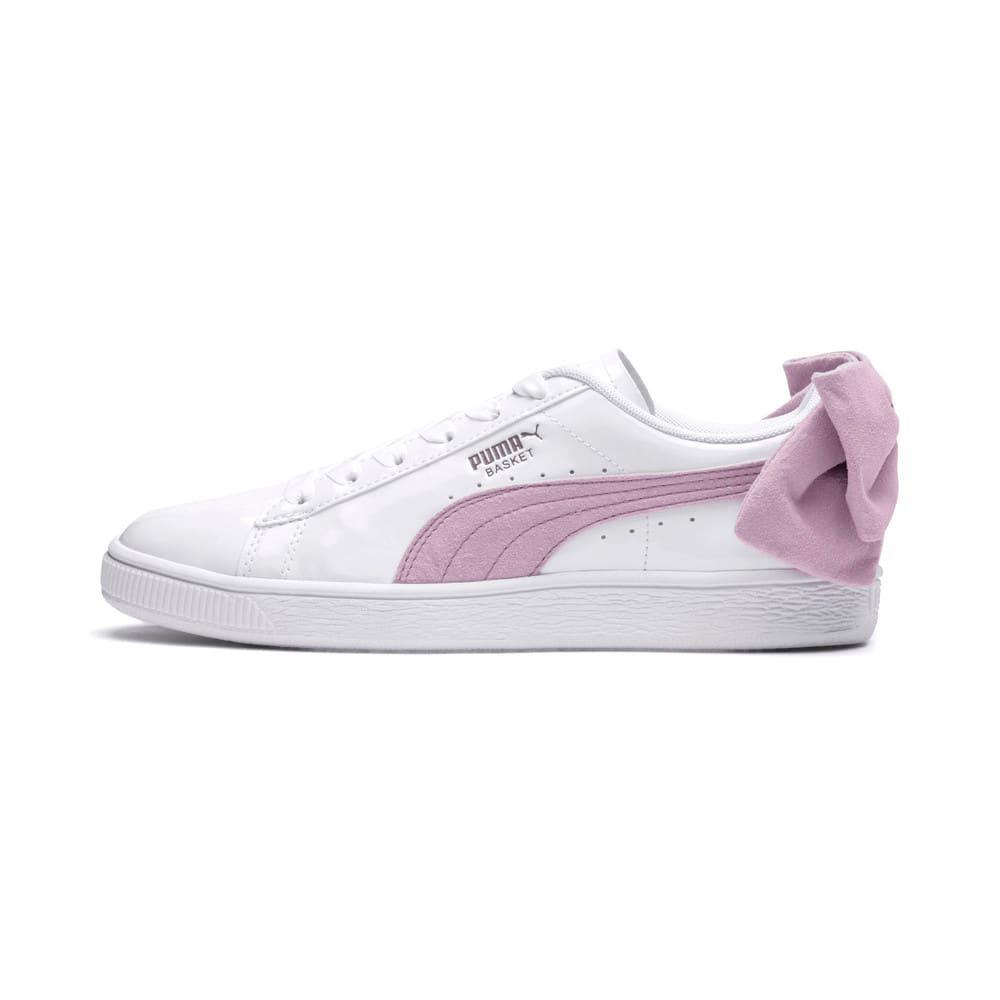 Görüntü Puma Basket Suede Bow Kadın Ayakkabı #1