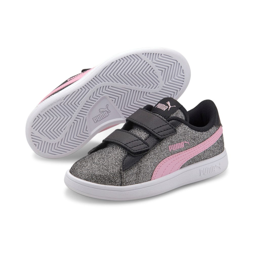Imagen PUMA Zapatillas Puma Smash v2 Glitz GlamV para preescolares #2