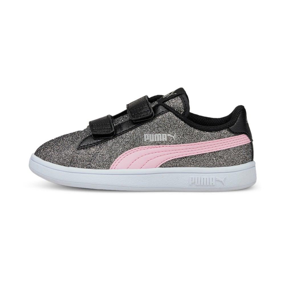 Görüntü Puma Smash v2 GLITZ GLAM Bantlı Çocuk Ayakkabı #1