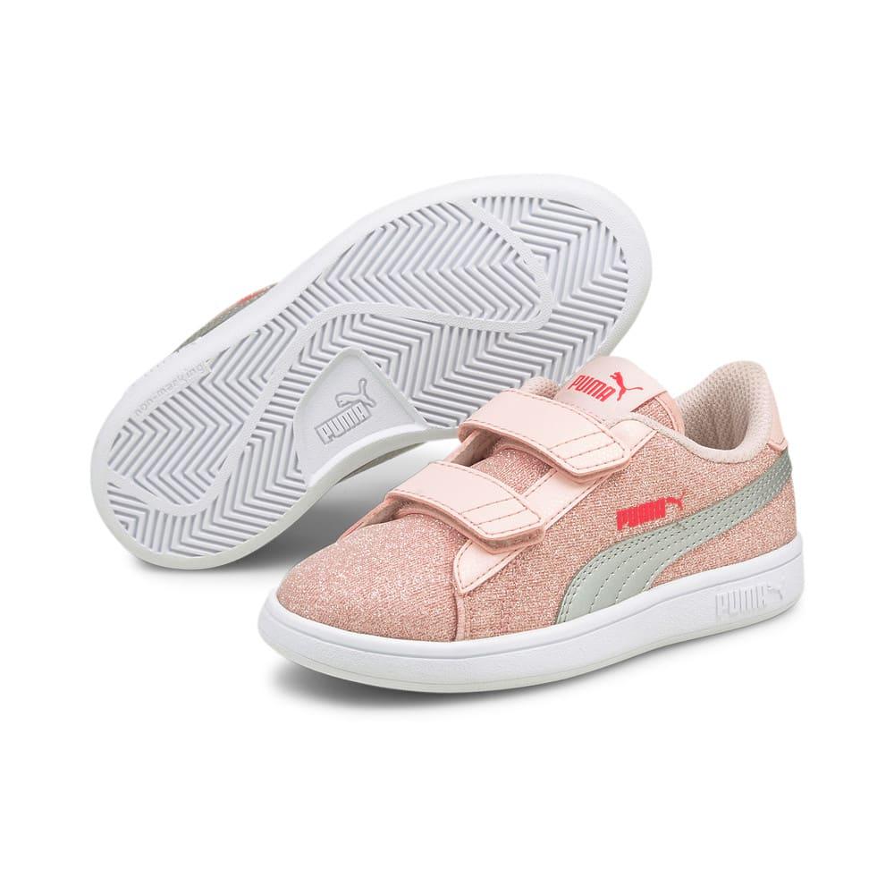 Görüntü Puma Smash v2 GLITZ Glam Bantlı Çocuk Ayakkabı #2