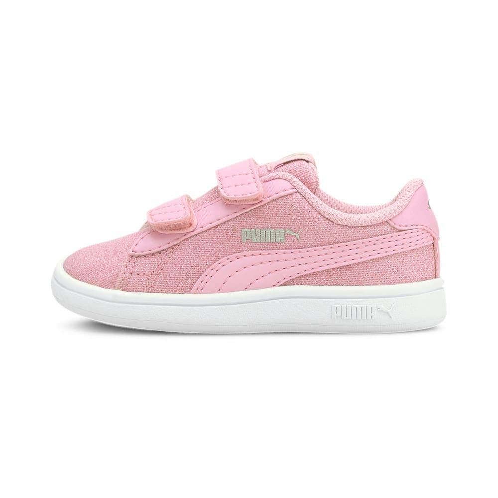 Görüntü Puma Smash v2 GLITZ Glam Bantlı Bebek Ayakkabı #1