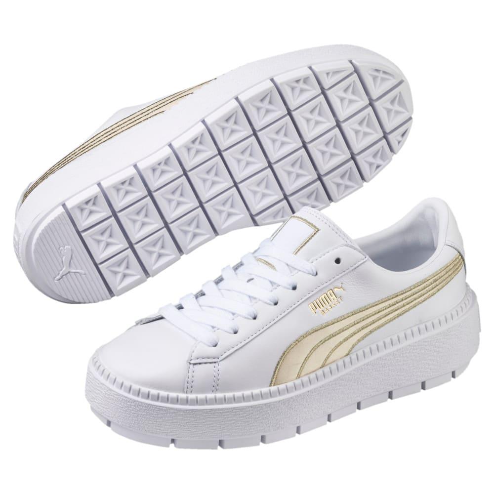 Görüntü Puma Platform Trace VARSITY Kadın Ayakkabı #2