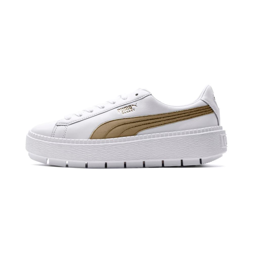 Görüntü Puma Platform Trace VARSITY Kadın Ayakkabı #1