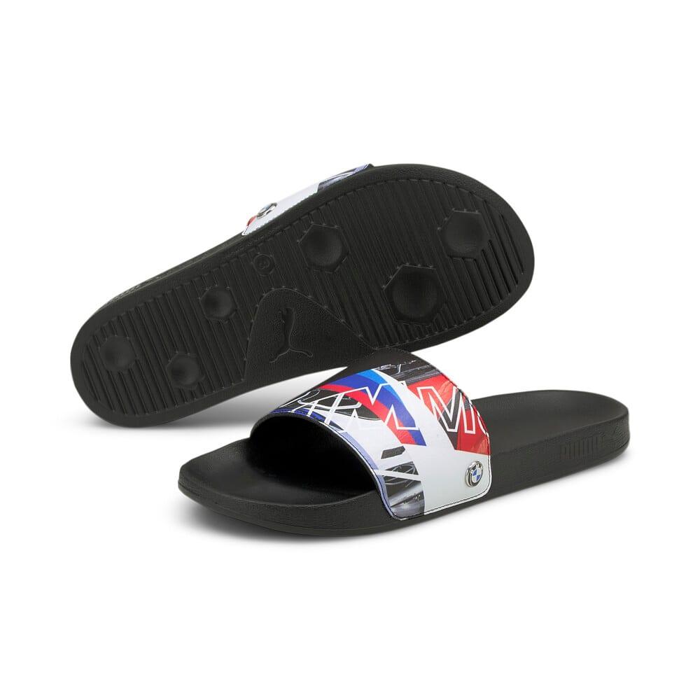 Изображение Puma Шлепанцы BMW M Motorsport Graphic Leadcat Sandals #2