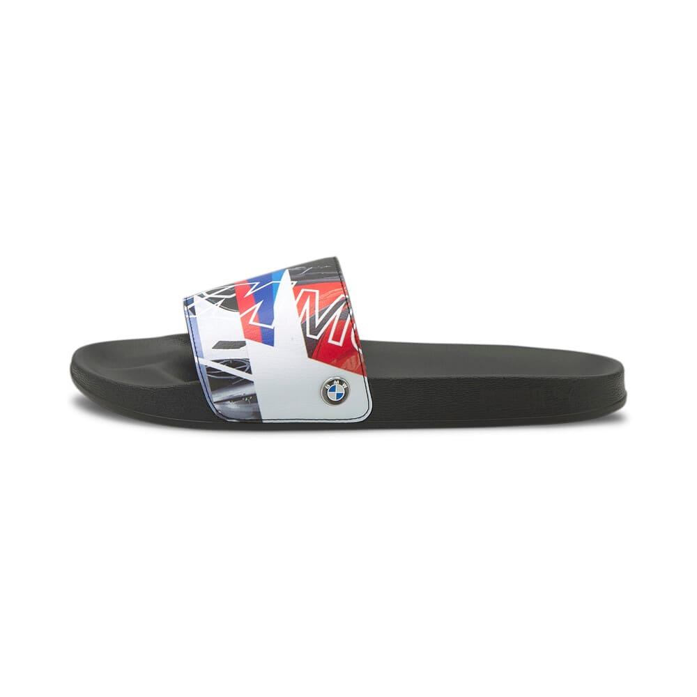 Изображение Puma Шлепанцы BMW M Motorsport Graphic Leadcat Sandals #1