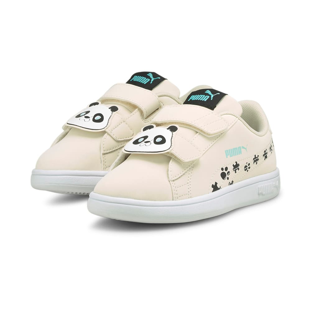 Изображение Puma Детские кеды Smash v2 Summer Animals Kids' Trainers #2