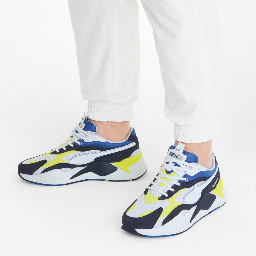 Image Puma RS-X³ Twill Air Mesh Trainers #2