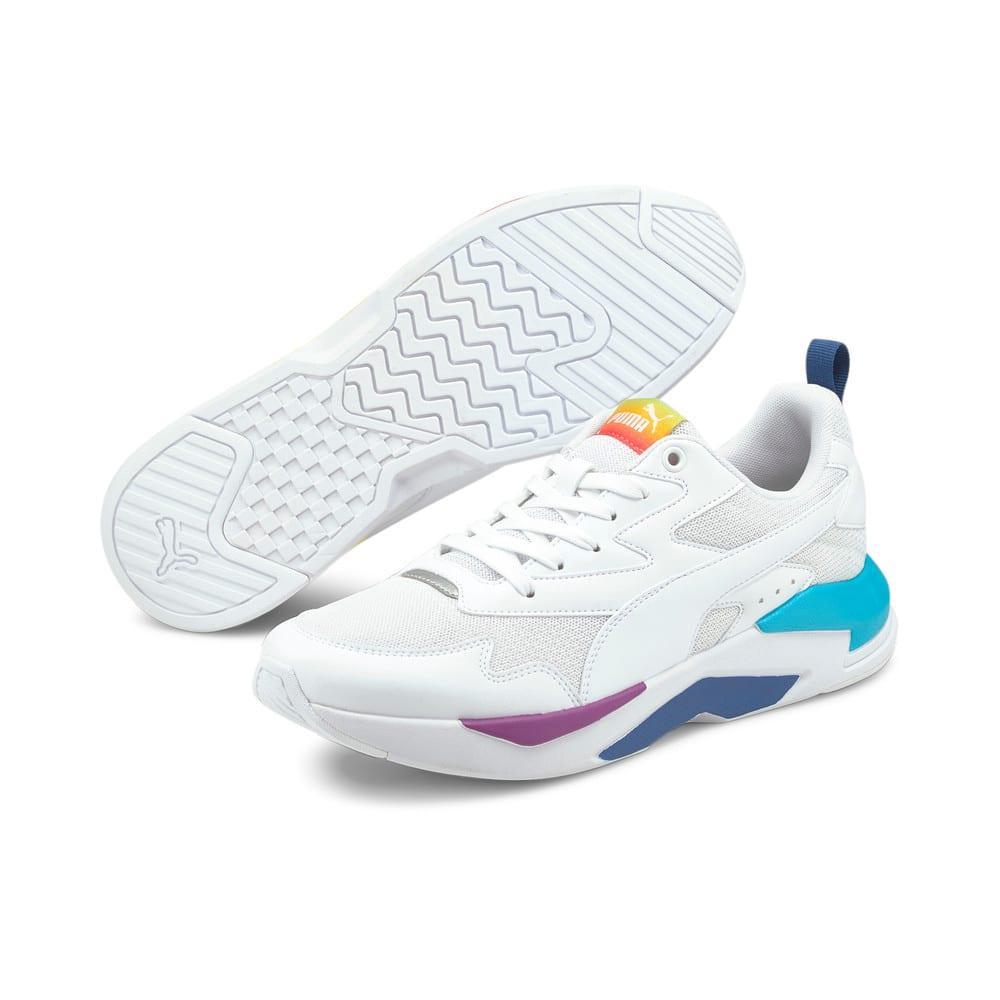 Зображення Puma Кросівки X-Ray Lite Rainbow Trainers #2: White-White-Celandine- Blue
