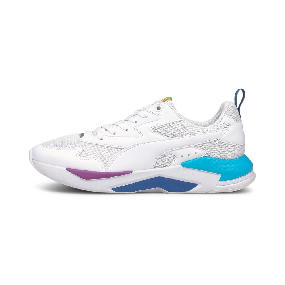 Зображення Puma Кросівки X-Ray Lite Rainbow Trainers #1: White-White-Celandine- Blue