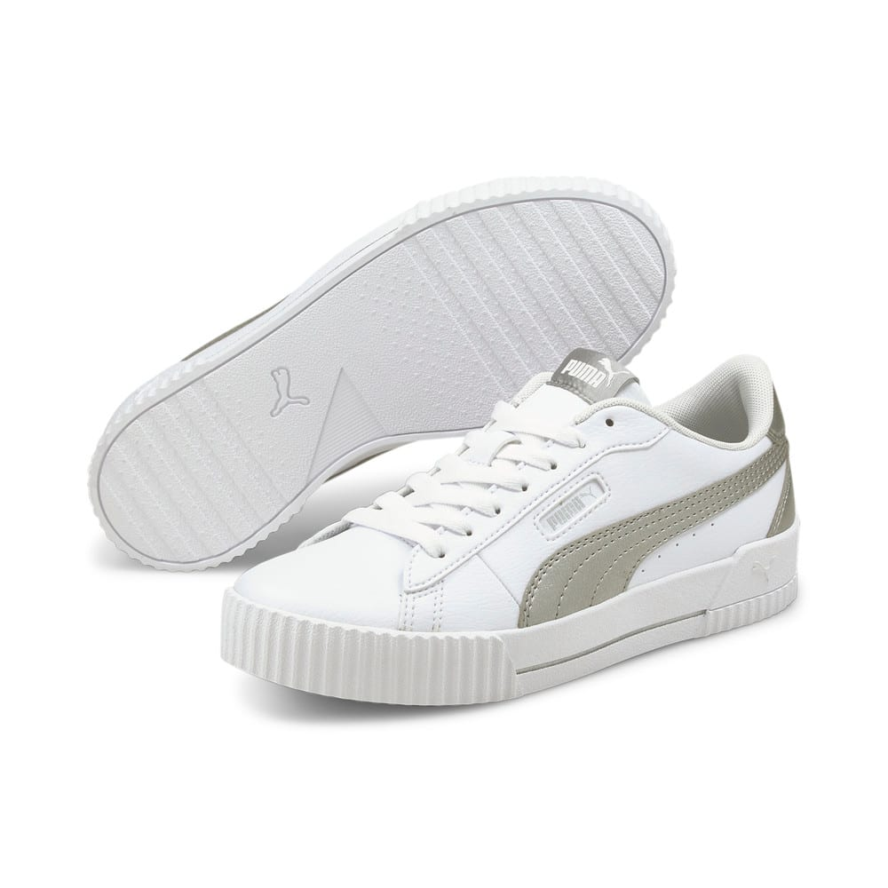 Изображение Puma Кеды Carina Crew Metallic Women's Trainers #2