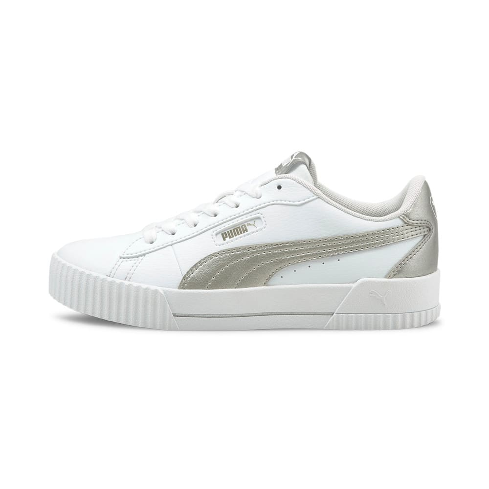 Изображение Puma Кеды Carina Crew Metallic Women's Trainers #1