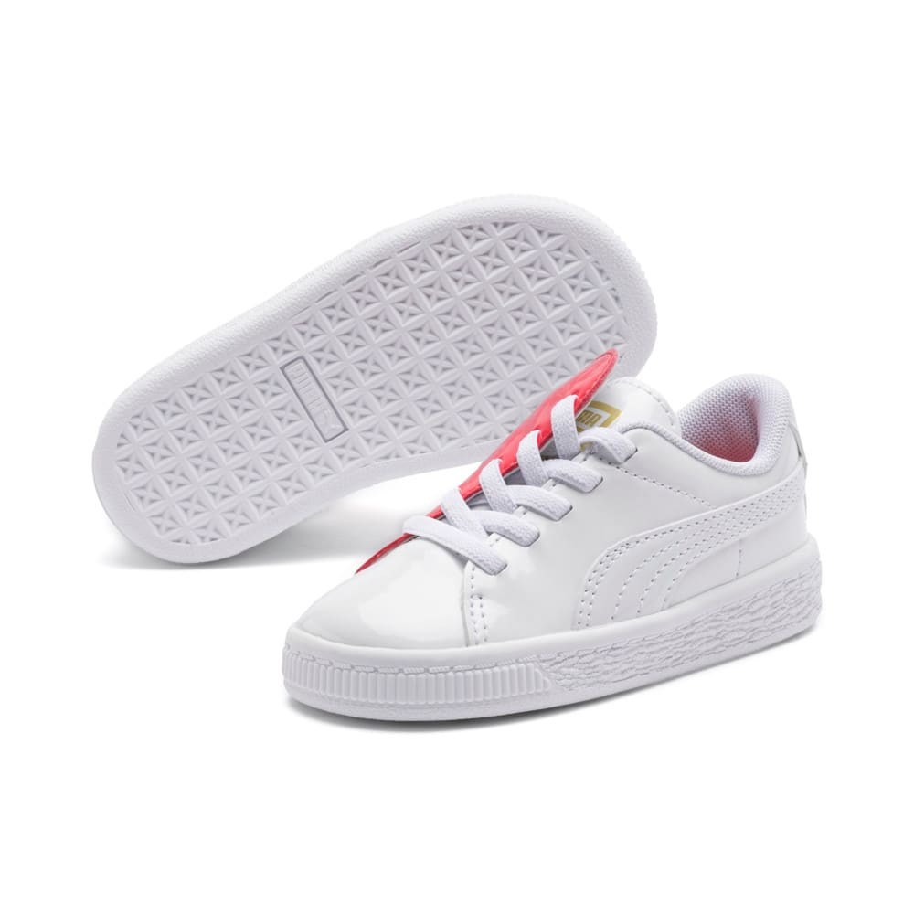 Imagen PUMA Zapatillas Basket Crush Patent para niña #2