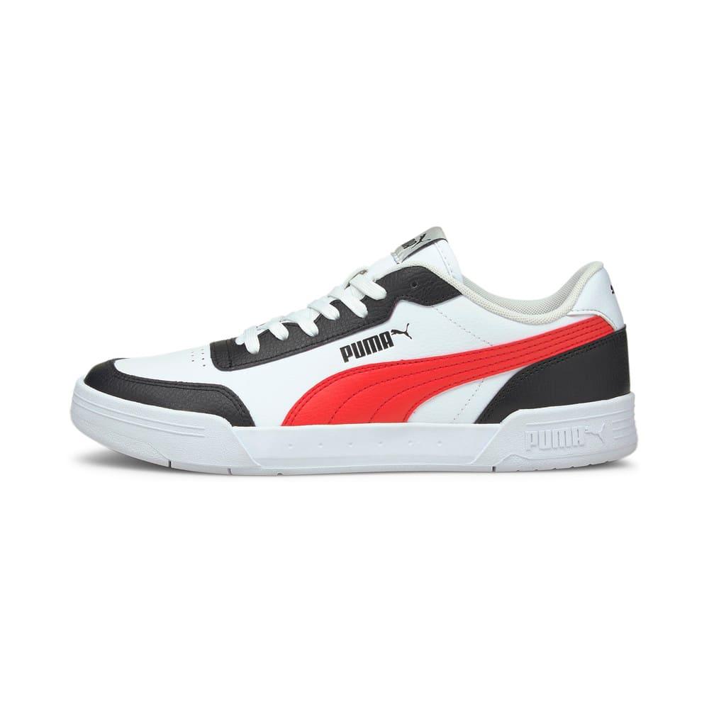 Зображення Puma Кросівки Caracal #1: Puma White-Poppy Red-Puma Black