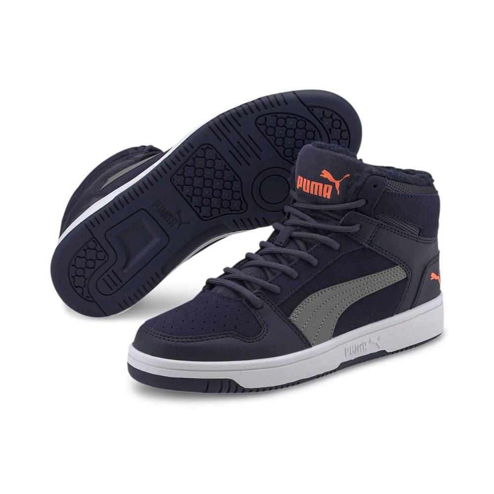 Зображення Puma Дитячі черевики Puma Rebound Layup Fur SD Jr #2