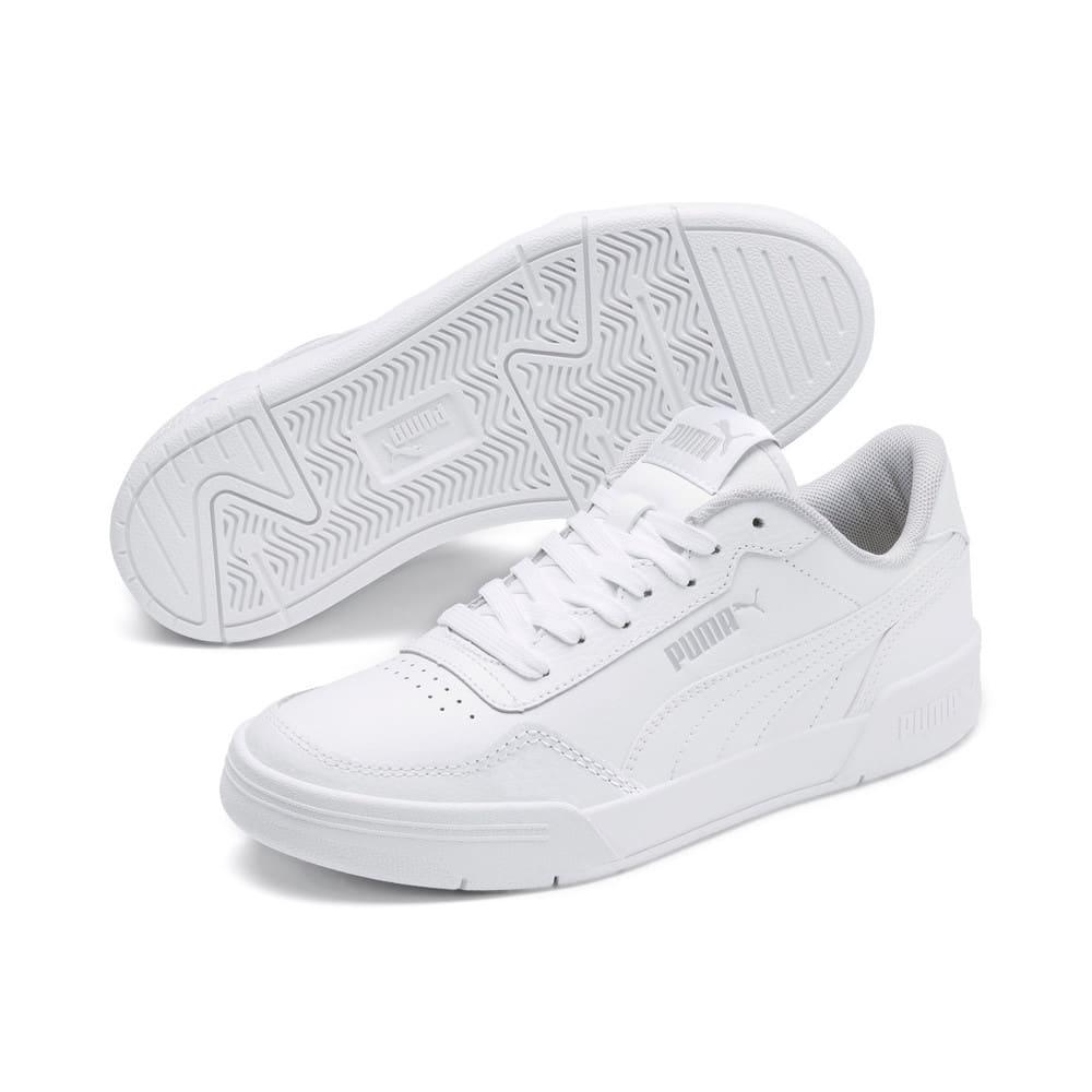 Зображення Puma Дитячі кросівки Caracal Jr #2: Puma White-Puma White-Puma Silver