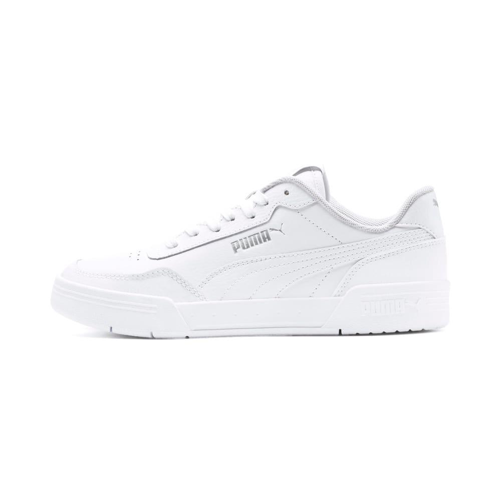 Зображення Puma Дитячі кросівки Caracal Jr #1: Puma White-Puma White-Puma Silver