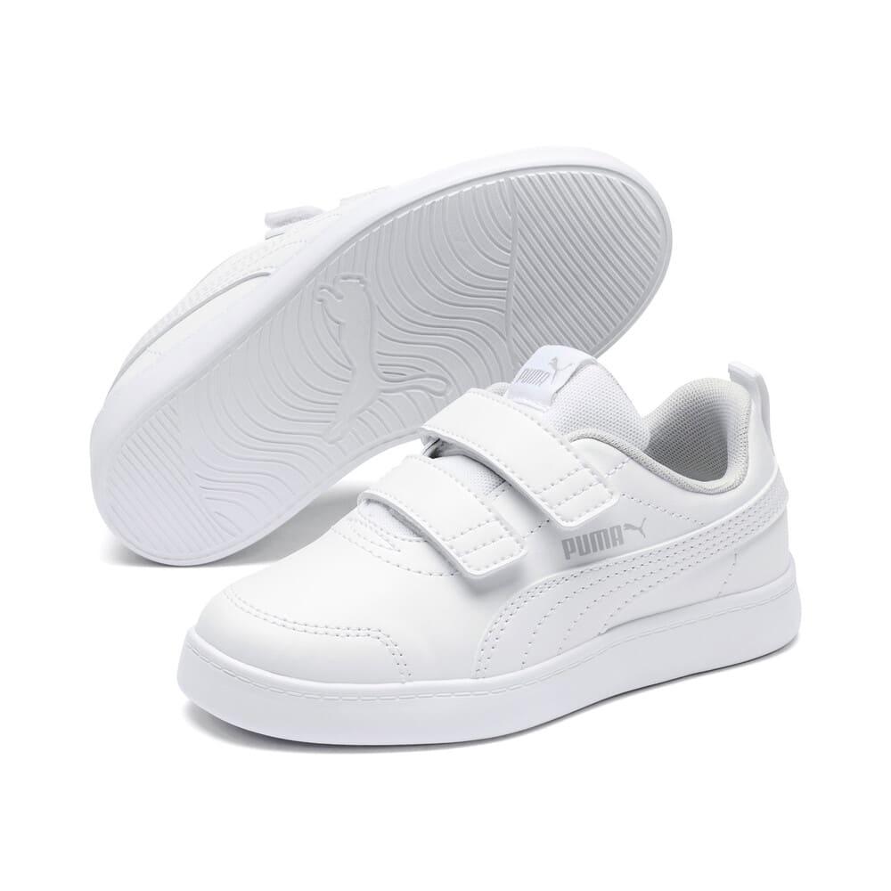 Görüntü Puma Courtflex V2 Çocuk Ayakkabı #2