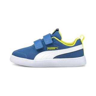 Изображение Puma Детские кеды Courtflex V2 Mesh Kids' Trainers