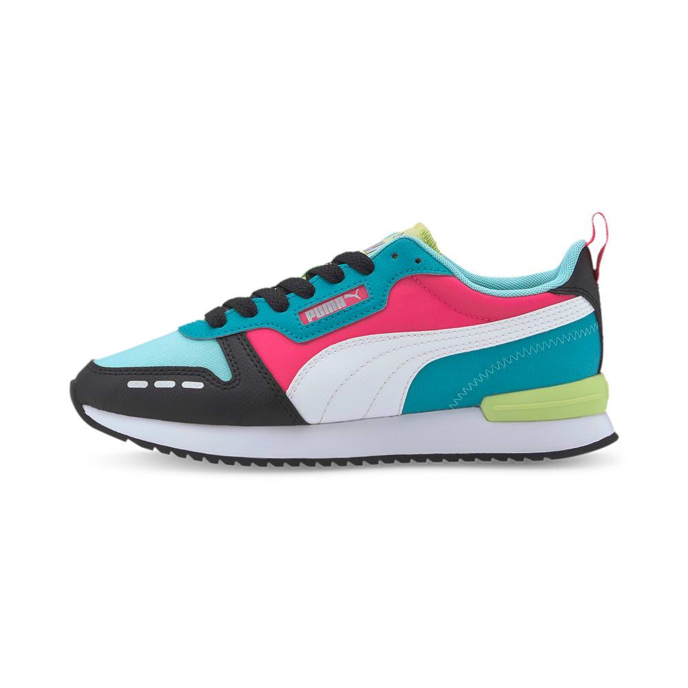 Image Puma R78 Neon Trainers #1